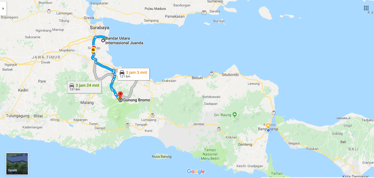 How to go to Bromo from Surabaya Airport